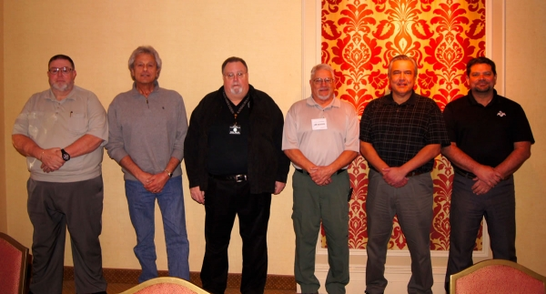 From Left to Right: Gary Davis – Treasurer, Claude Davis – Director, Ron Davis – Chairman of the Board, Jim Woods – Vice President, Joseph Garcia – Director, Chip Morgan – President, Ted Parker – Secretary (not shown)
